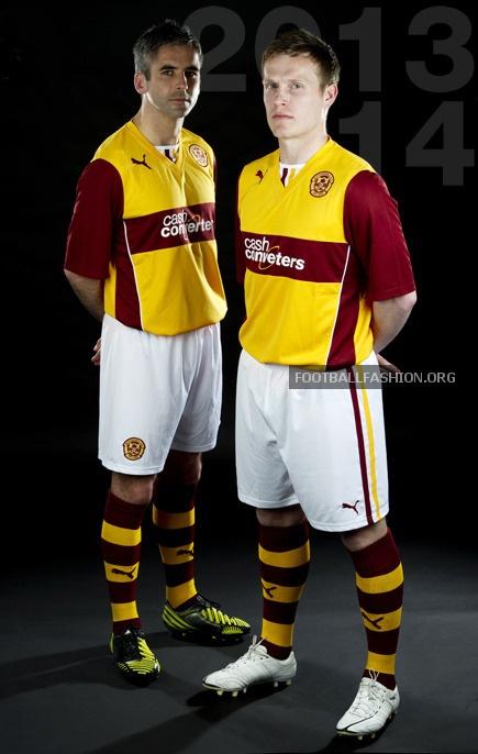 Motherwell FC 2013/14 PUMA Home Kit