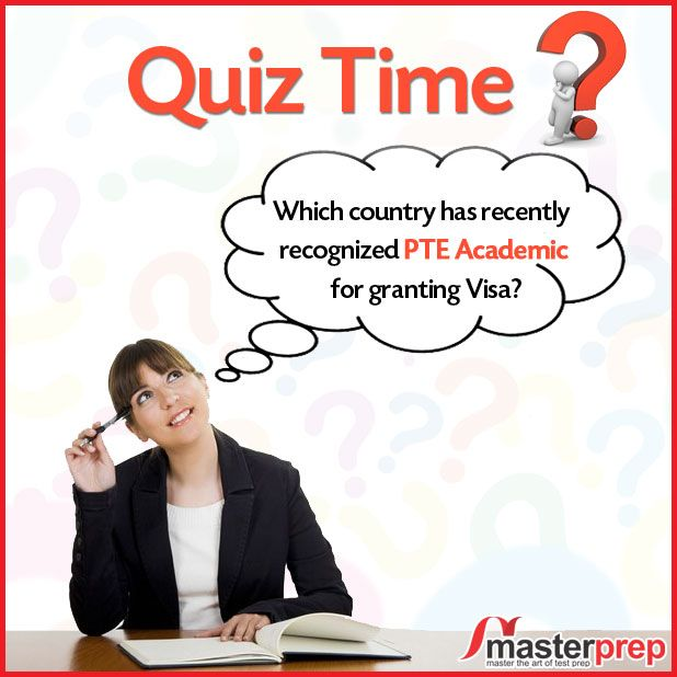 Answer this and you can win a FREE #PTEAcademic counselling session! PTE Academic is gaining popularity all over the world. All the top Universities including big names like #HarvardBusinessSchool #INSEAD & #Yale accept its score. Are you well prepared to take it? If not, meet up with the expert team of #MasterPrep! www.masterprep.in