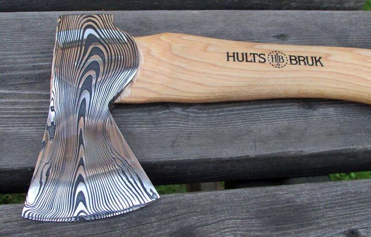 Swedish Steel: Hand-Forged 'Damascus Steel' Hatchet – Gear Junkie