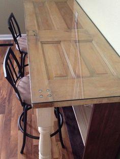 Desk DIY: Recycle old door into new desk - Handy Father My most popular desk.