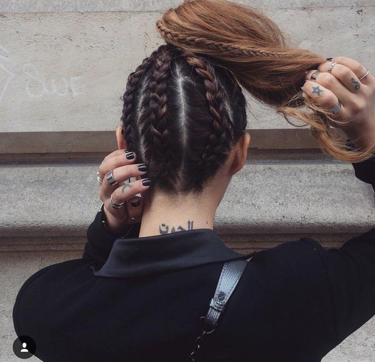 BadAss braids | Tresses | Pinterest | Badass, Hair style and Makeup