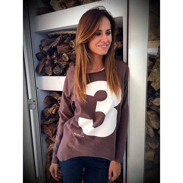 Three is the magic number!!!  Michela Coppa wears Pepita easywear @Ricette all'Italiana on Rete4 TV  Find on: http://shop.pepitastyle.com/maglieria-e-felpe/victoria-maxi-maglia.html#.VGCRWDSG9Qg