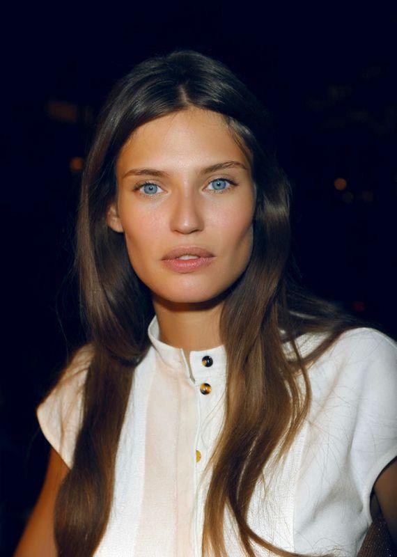 Bianca Balti #beauty #longhair #cheekbones #model
