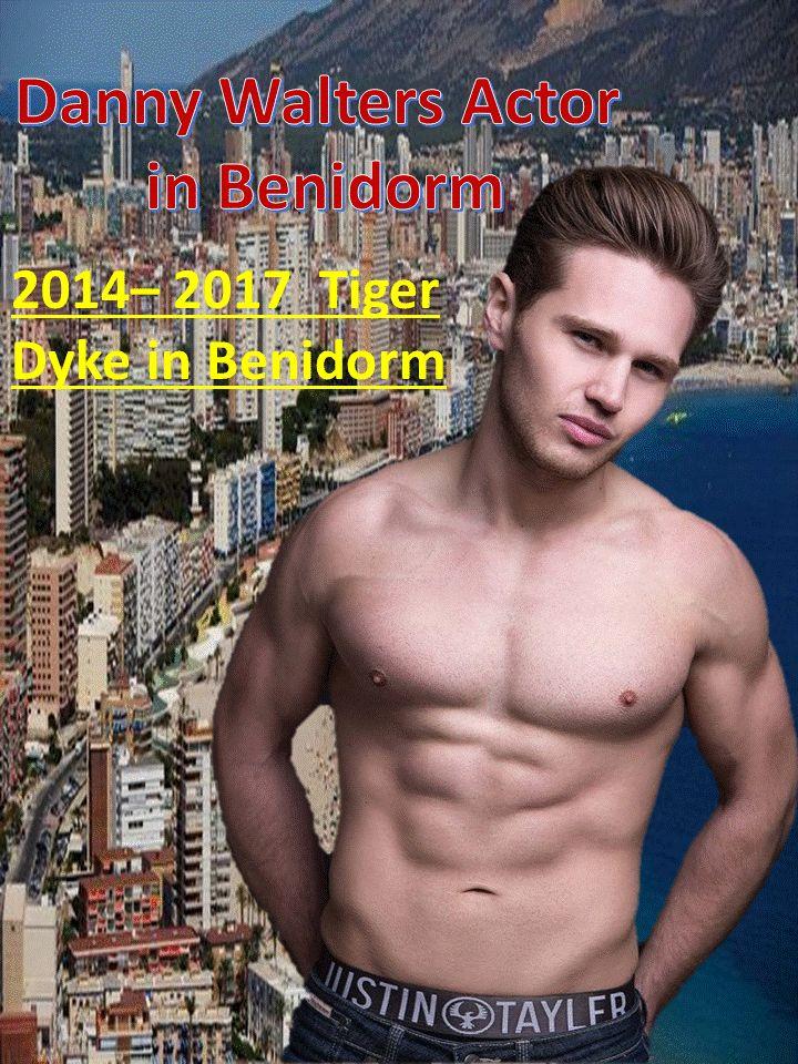 2014– 2017 Benidorm Danny Walters as Tiger Dyke