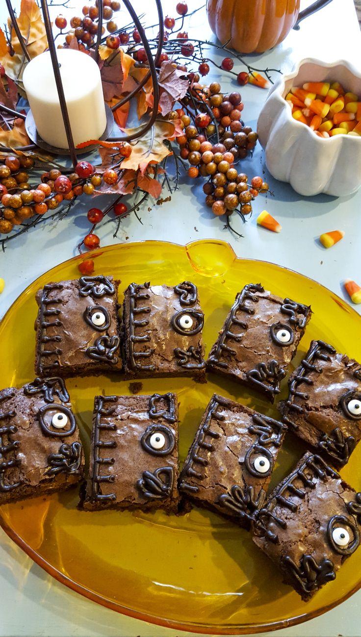 'Hocus Pocus' Booook Brownies & a Drinking Game