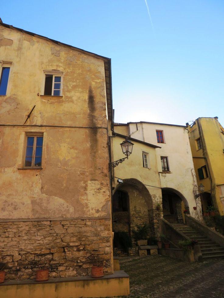 Dolcedo (IM), Val Prino, centro storico, uno scorcio