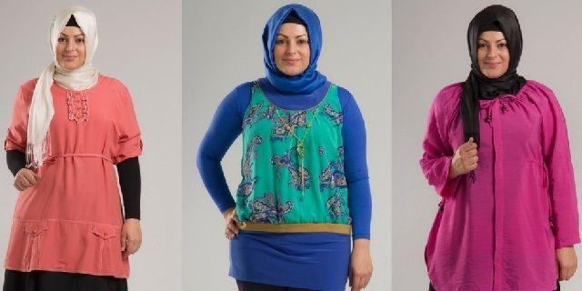 Model Pakaian Muslim untuk Wanita Gemuk