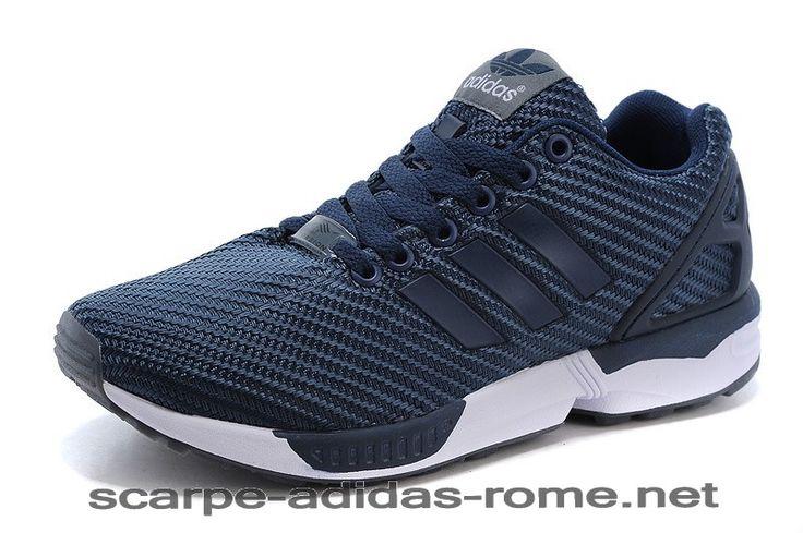 adidas ZX Flux Uomo Navy Blu/Bianche Scarpe (Adidas ZX Flux italia) - adidas ZX Flux Uomo Navy Blu/Bianche Scarpe (Adidas ZX Flux italia)-31