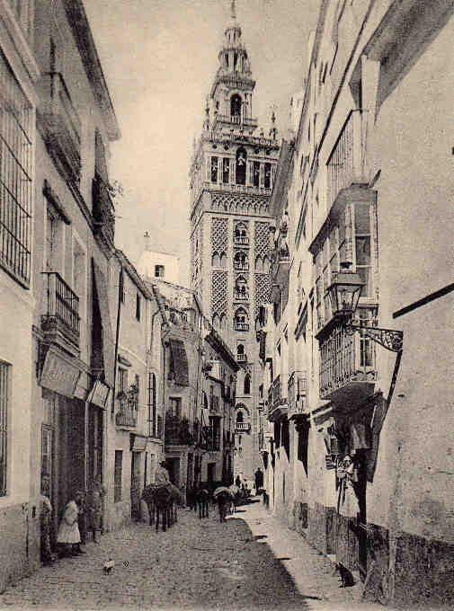 Sabias que la calle Mateos Gago se llamaba Calle Borceguinería hasta 1893 ?