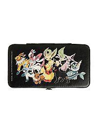 HOTTOPIC.COM - Pokemon Eevee Evolution Hinge Wallet