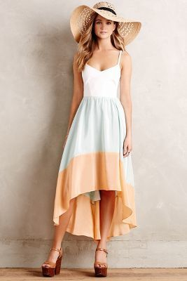 Hutch Colorblocked Sama Dress #anthroregistry