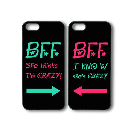 Best Friends Forever 2pcs -- iphone 4 case,iphone