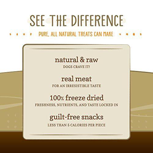 Nature's Variety Instinct Raw Boost Grain Free Chicken Formula Freeze Dried Munchies Dog Treats, 4 oz. Bag