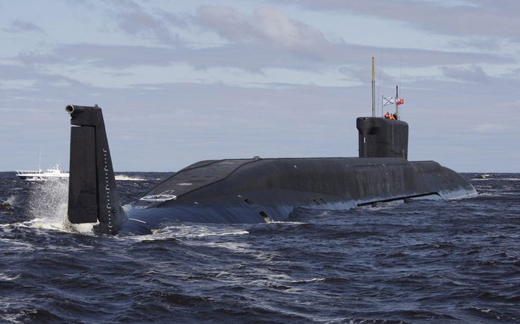 A Russian nuclear submarine has caught fire in the northern province of   Arkhangelsk