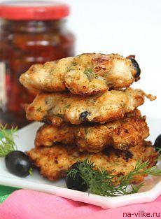Chiftele de pui cu influențe italiene - Foarte izyaschno, krasivo și delicioase, desigur.  Citește mai mult »