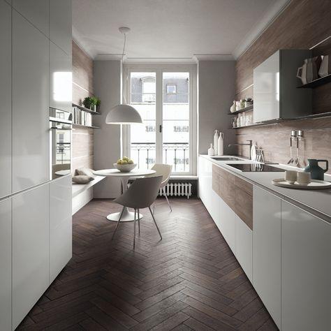 68 best Küche images on Pinterest Modern kitchens, Kitchen ideas - fliesen küche modern