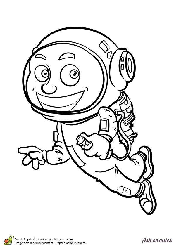 53 best images about coloriages cosmonautes et extraterrestres on pinterest pictures of - Dessin d astronaute ...