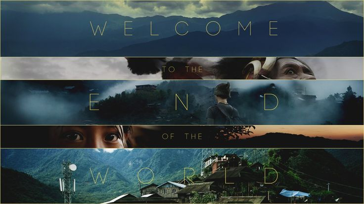 """Welcome to the End of the World. [Keep up with the adventures at facebook.com/calebslain or twitter.com/calebslain]  """"Welcome to the end of ..."""