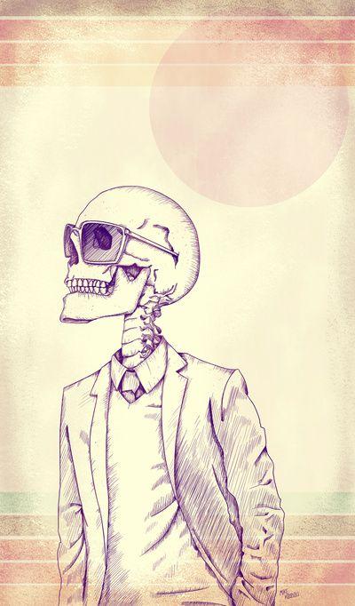 Gentleman Art Print by Mike Koubou | Society6