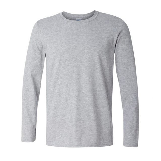 【 $7.97 & Free Shipping / Coupons 】Classic Mens T-shirt Long Sleeve O neck Cotton Tees Tops Plus size Sweatshirts   Buying & Reviews on AliExpress