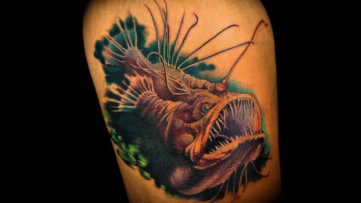 17 best images about deep sea tattoo on pinterest deep for How deep is a tattoo