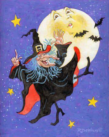 """Mad Millie's Moon Dance by Richard De Wolfe"