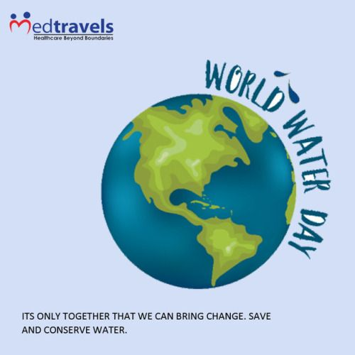 """International World Water Day is celebrated every year on 22nd March for freshwater resources to raise awareness about the importance of water & advocating for proper management of freshwater resources. Life starts with water. """"Let's conserve what we have today, for we may not have it tomorrow."""" #worldwaterday2017 #SaveWater #SaveLife #savePlanet #sustainable #conserve #recycle #reuse #awareness #waterislife #Medtravels"""