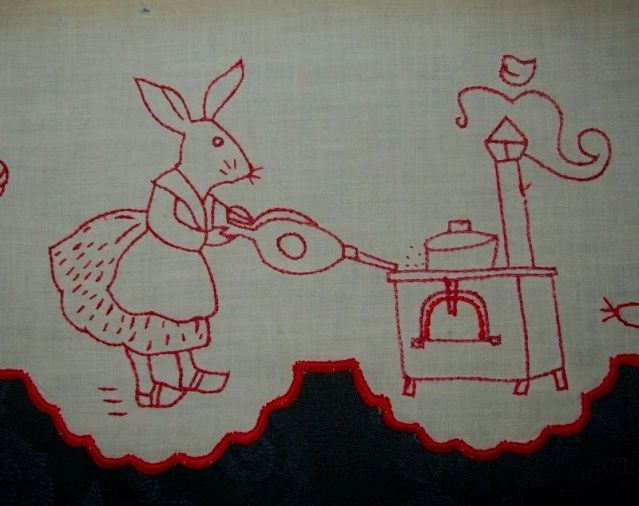Le Blog De Tissus Anciens   Lovely French Blog All About Vintage Textiles  And Crafts