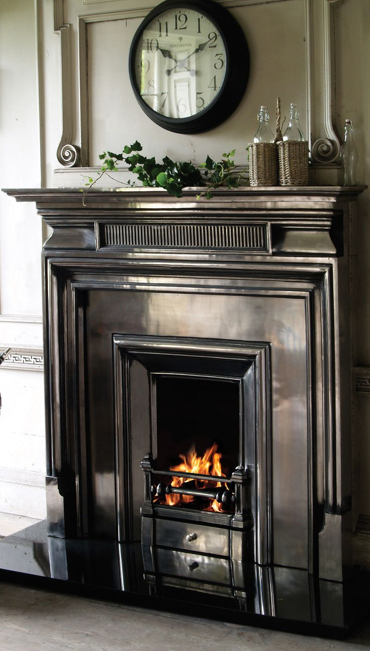Cast iron fireplaces from Carron; a vast array of gas & solid fuel  combinations fireplaces and inserts, complimented with beautifully range of cast  iron and ... - Ideas About Cast Iron Fireplace On Pinterest Victorian