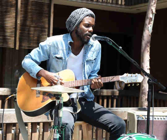 Gary Clark, Jr. woke up in new york city lyin on the floor