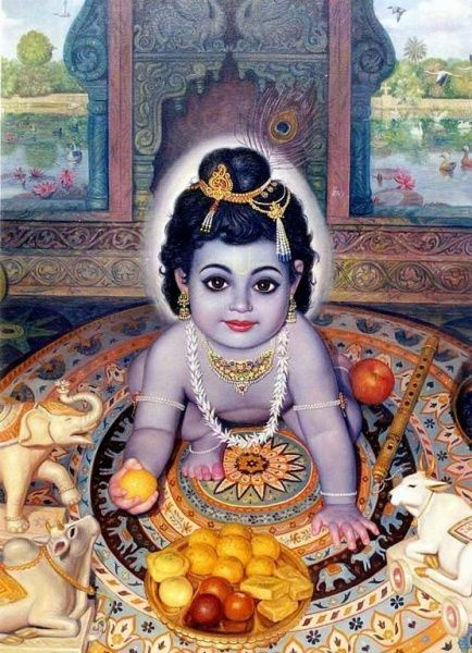 Krsna Prasadam - Sattvika-ahara: Food in the Mode of Goodness/ What Krishna likes in His offerings.