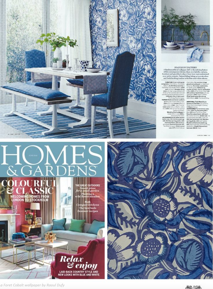 Christopher Farr Cloth in Home & Gardens. Available from Ascraft Textiles.