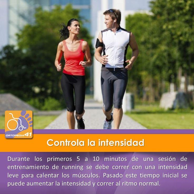 Controla la intensidad del #running para evitar #lesiones.