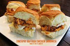 Crock Pot Buffalo Ch Crock Pot Buffalo Chicken Sandwich Recipe :...  Crock Pot Buffalo Ch Crock Pot Buffalo Chicken Sandwich Recipe : http://ift.tt/1hGiZgA And @ItsNutella  http://ift.tt/2v8iUYW