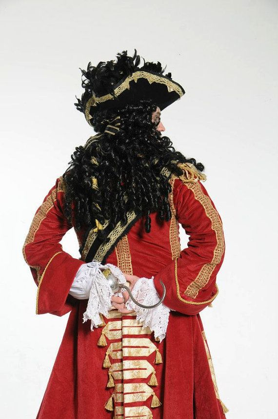 Dustin Hoffman inspired CAPTAIN HOOK costume by ChadHatter on Etsy, $2000.00