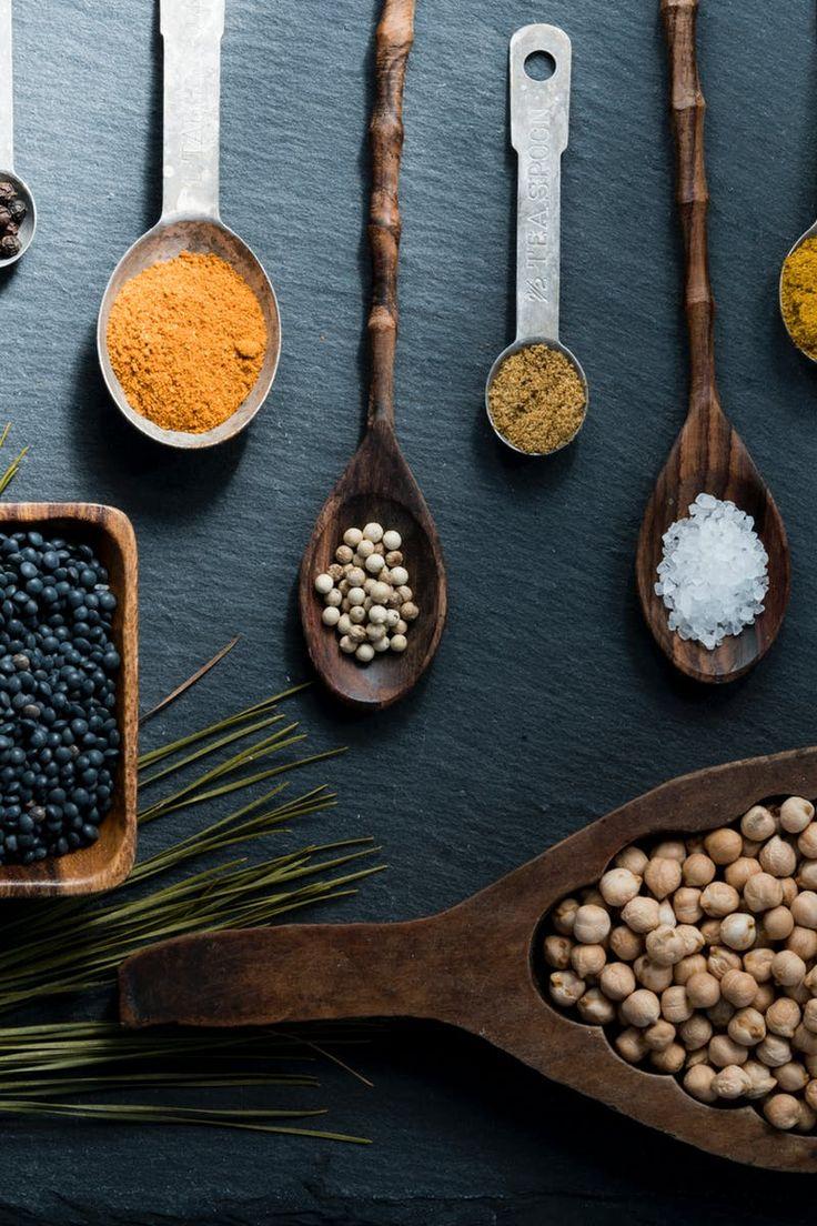 Free stock photo of food, healthy, wood, spoon