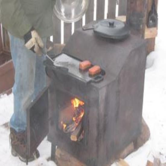 Re-Purpose An Old Wood Stove - Homesteading and Livestock - MOTHER EARTH NEWS