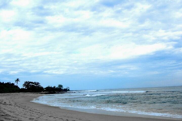 Sawarna beach, Banten, Indonesia