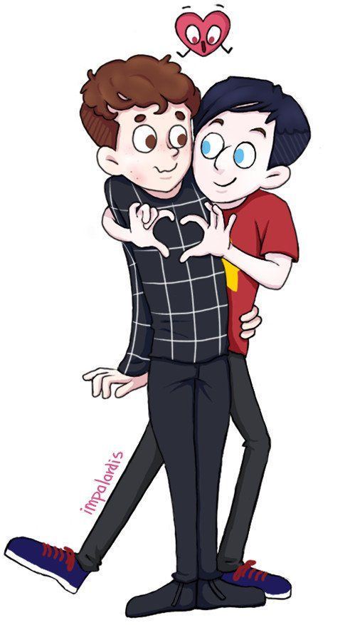 Phanart based on the animation In A Heartbeat