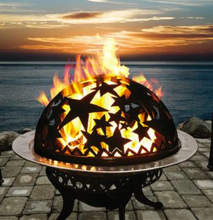 Celestial Fire Dome - 10 Fire Pits We Love - Bob Vila  repined by http://austinarealuxuryhomes.com