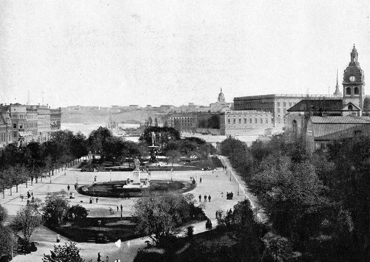 Kungsträdgården, Stockholm 1897