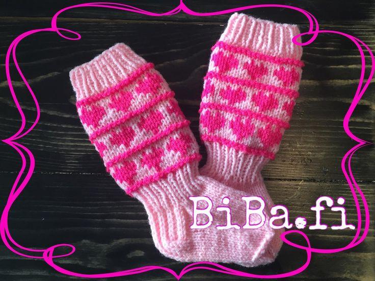 Vauvan polvisukat, sydän - BiBa