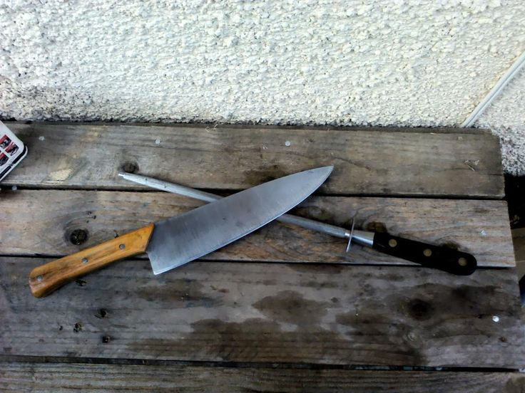 Kitchen Knife From An Old Saw Blade Sharp Amp Pointy