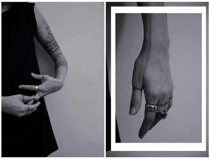 "jewelry by SAVVY hands by Coco Mayaki tatttos by Artem Sherstobitov photo: ""I don't want realism. I want magic!"""