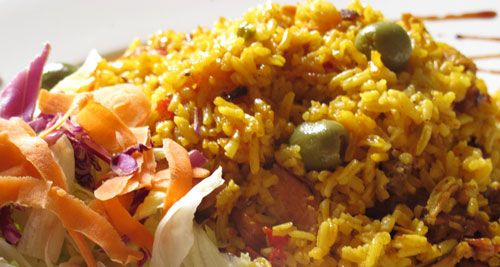 Panamanian Chicken and Rice YUM!