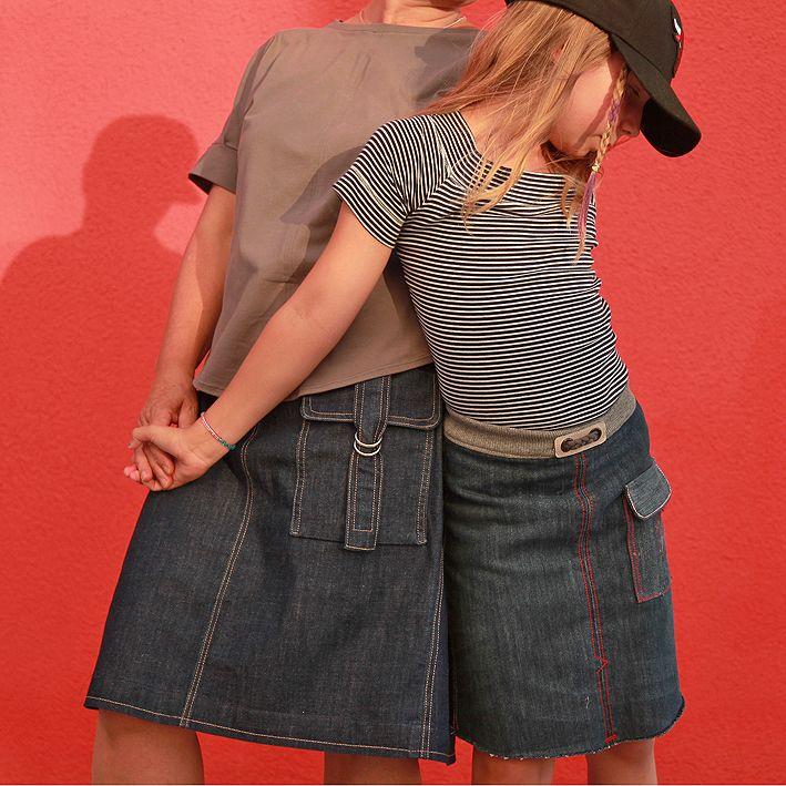 Rock Kitti für Damen Gr. 34-54 und Rock Kitti für Mädchen Gr. 98-164 sind in diesem Kombiebook vereint. Rock Kitti ist ein bequemer Rock in leichter A-Form, der einfach und schnell genäht ist. Sowohl der Damen- wie auch der Mädchenrock kann in...