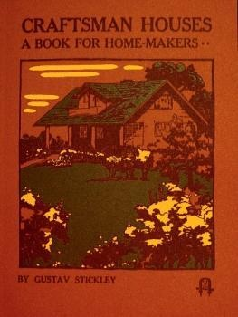 New! Gustav Stickley - Craftsman Houses - Catalog Reprint | eBay