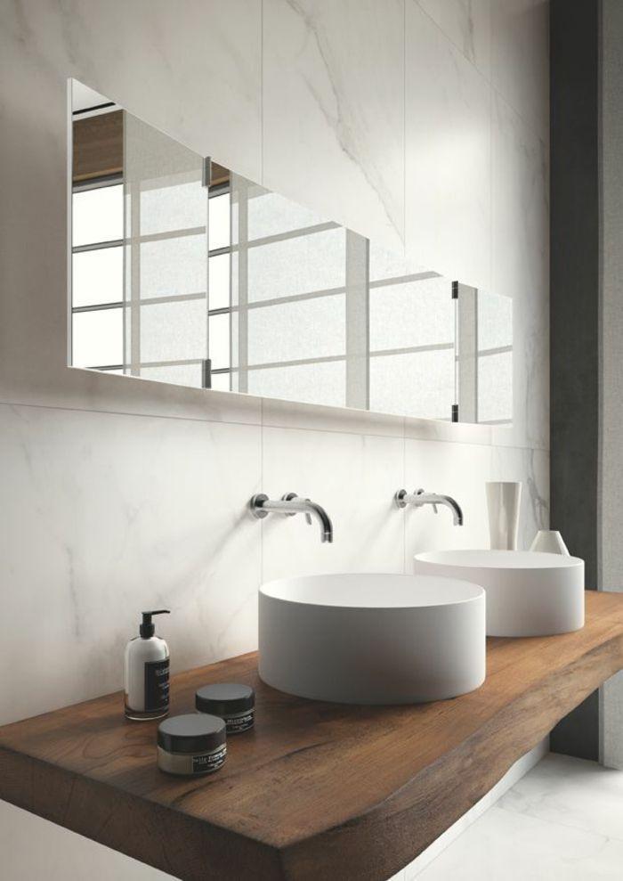 Wooden vanity and other rustic bathroom ideas – Badezimmer / Bathroom