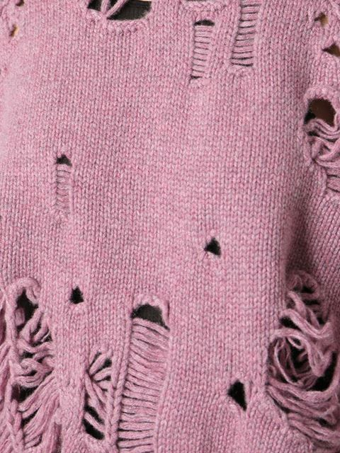 Shop Maison Martin Margiela distressed sweater in Raionul 4 from the world's best independent boutiques at farfetch.com. Over 1000 designers from 300 boutiques in one website.