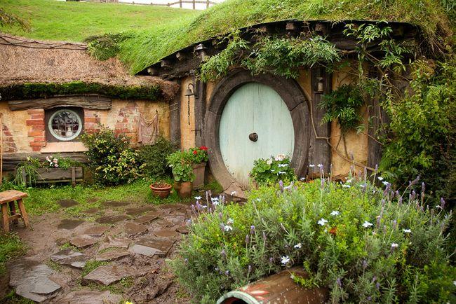 "hobbiton, Matamata, Nowa Zelandia - ""Władca pierścieni"", ""Hobbit"""